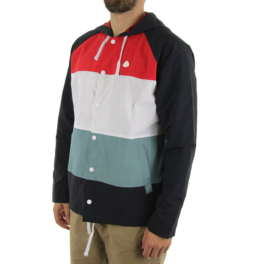 Alps Jacket/Red/Navy/White/Pale Green