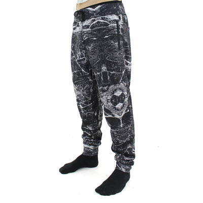 Allover Marble Drop Crotch Pants/Marble
