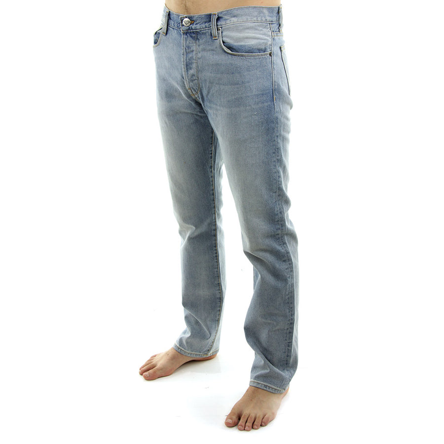 Mined Denim Classic Fit Jeans/Light Wash