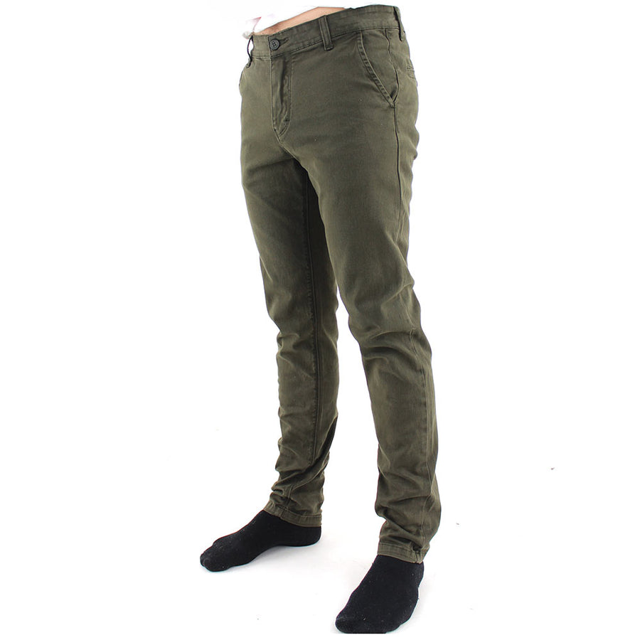 Goodstock Vintage Chino Pants/Dark Olive