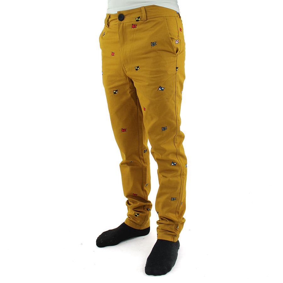 Jonty Flags Pants/Mustard
