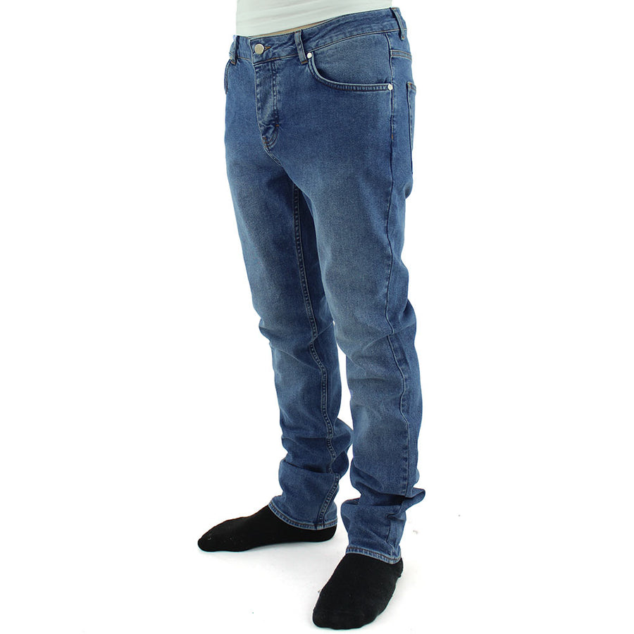 Alessandro 5 Pocket Jeans/Average Blue