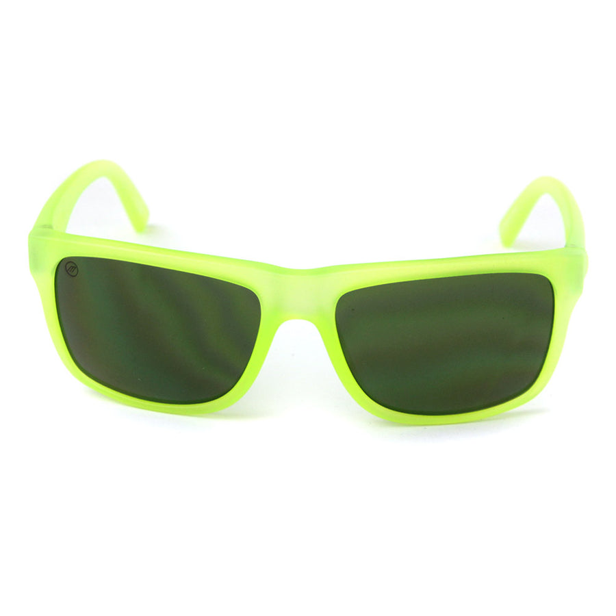 Swingarm Sunglasses/Lime Green/Grey Lens