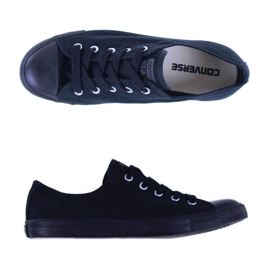 WOMEN'S Dainty Chuck Taylor Ox Shoes/Black Mono