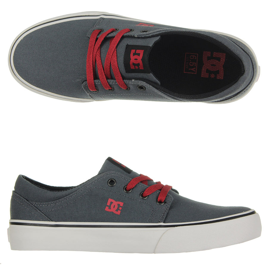 Youth's Trase TX Shoes/Grey/Black/Red