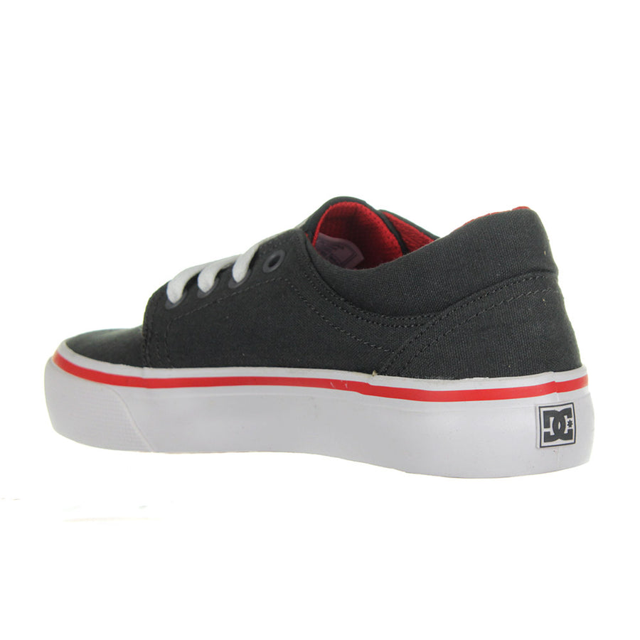 Youth's Trase TX Shoes/DK Shadow/White/Athletic Red