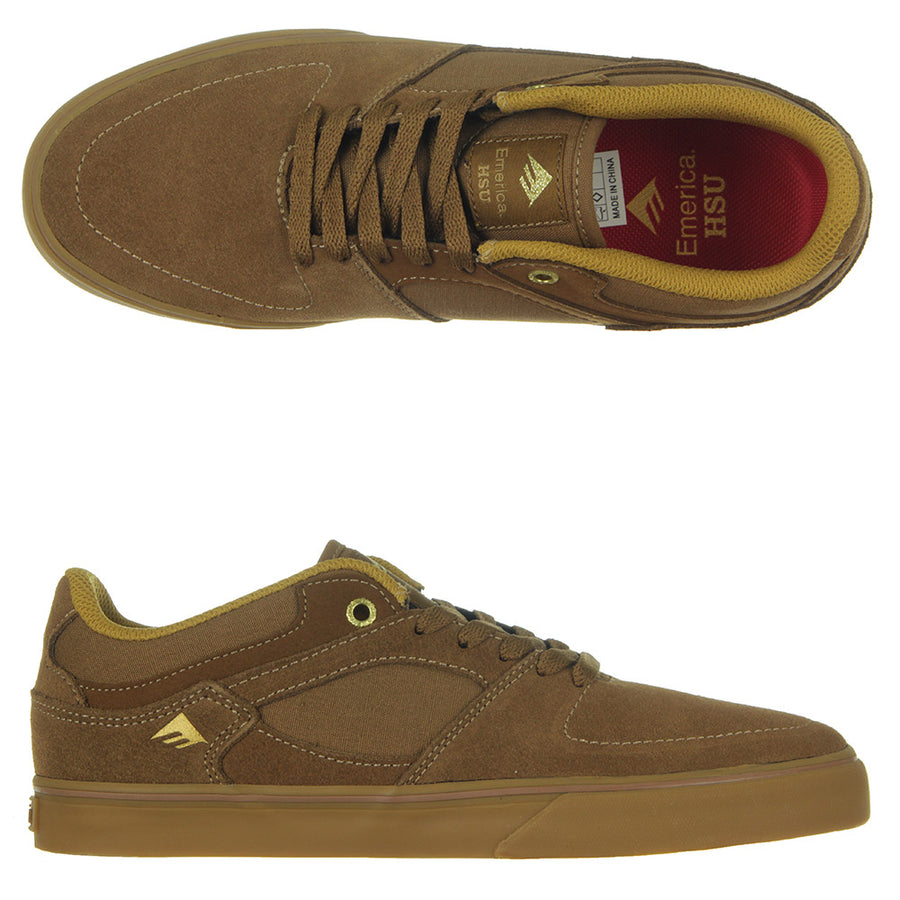 The Hsu Low Vulc Shoes/Brown/Gum