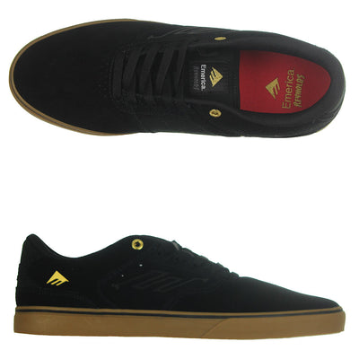 The Reynolds Low VULC - Black/Gum