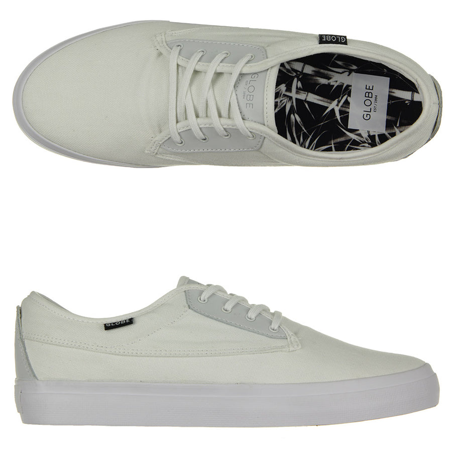 Moonshine Shoes/White/Black