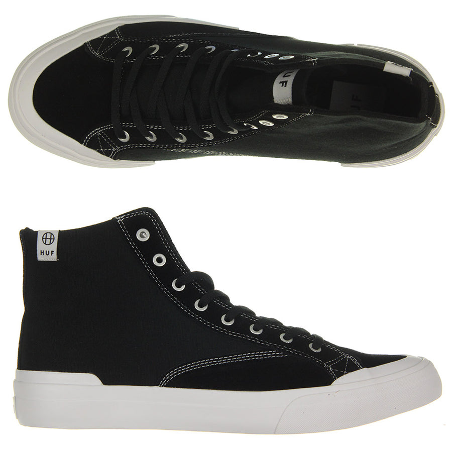 Classic Hight Ess Shoes/Black/White