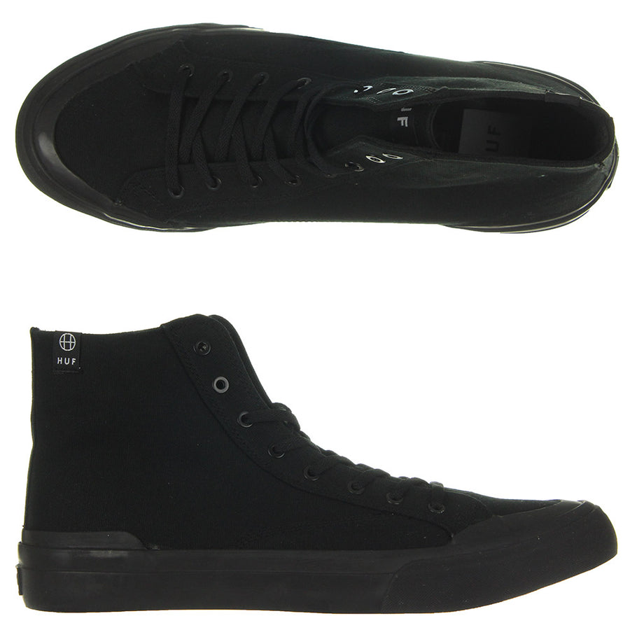 Classic Hi Ess TX Shoes/Black/Black