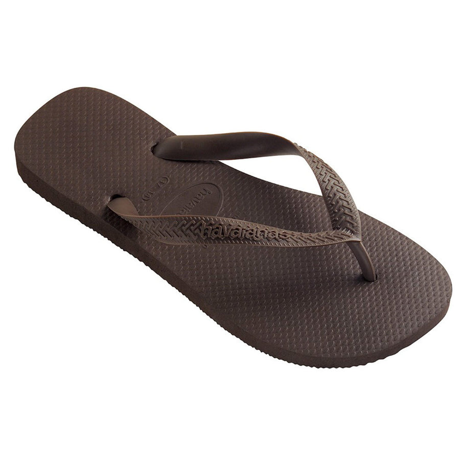 Top Jandals/Dark Brown