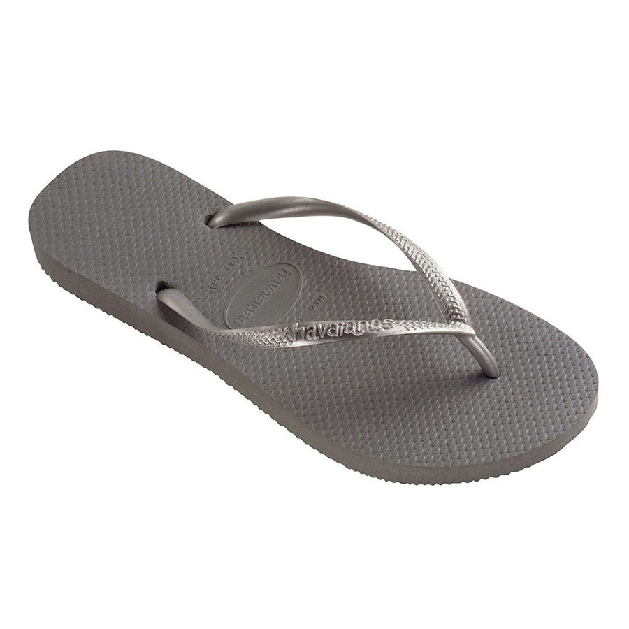 Slim Jandals/Steel Grey