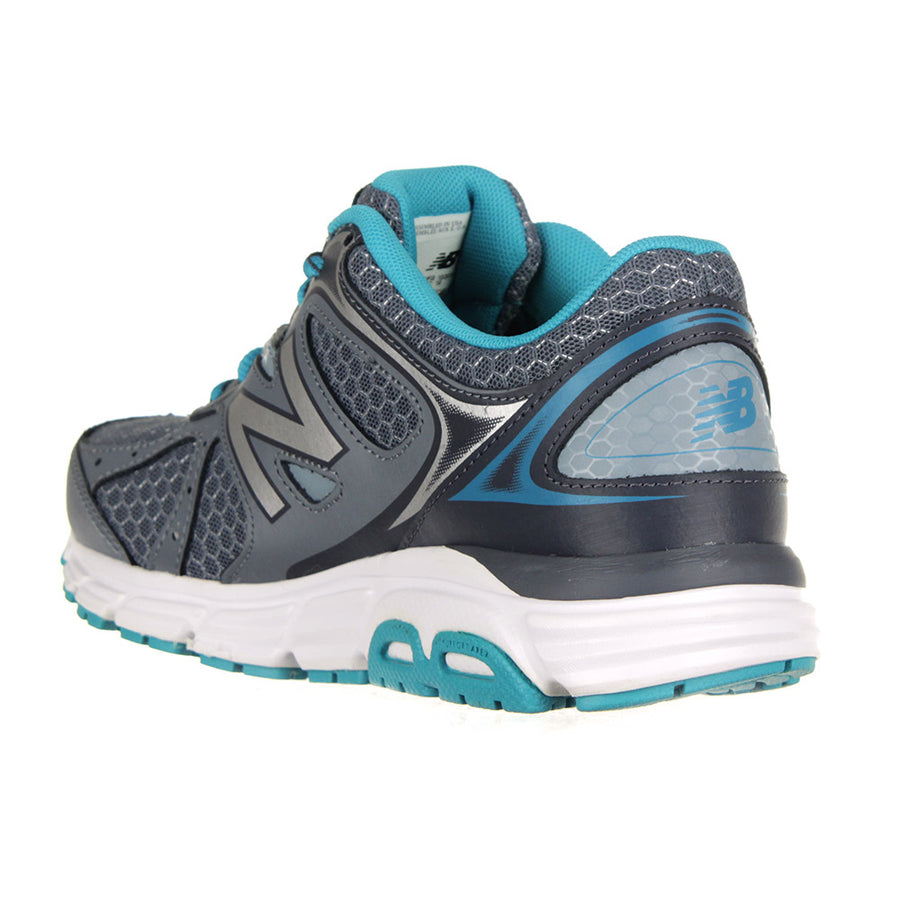Running Course Shoes/Grey/Teal
