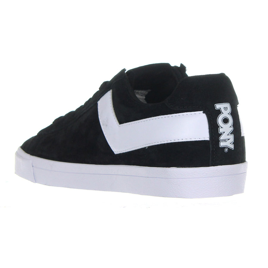 Top Star Lo Core Suede Shoes/Black/White