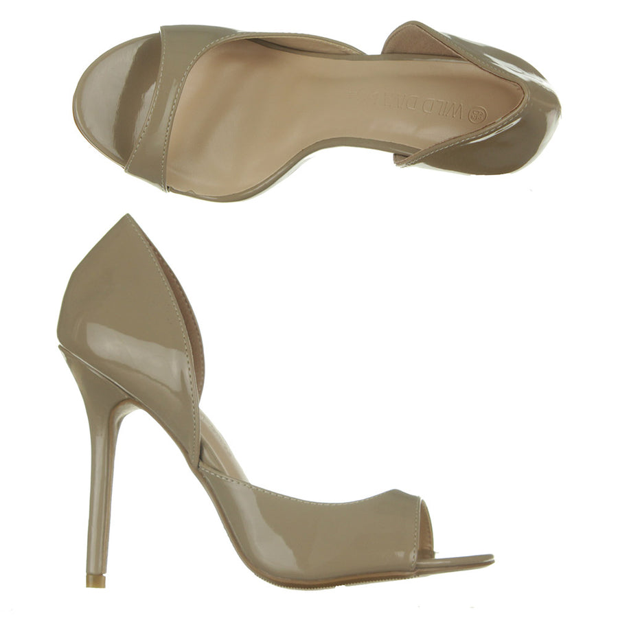 Adele - 185 Heel Shoes/Natural