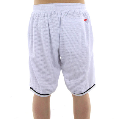Cryptic Medusa Basketball Shorts/White