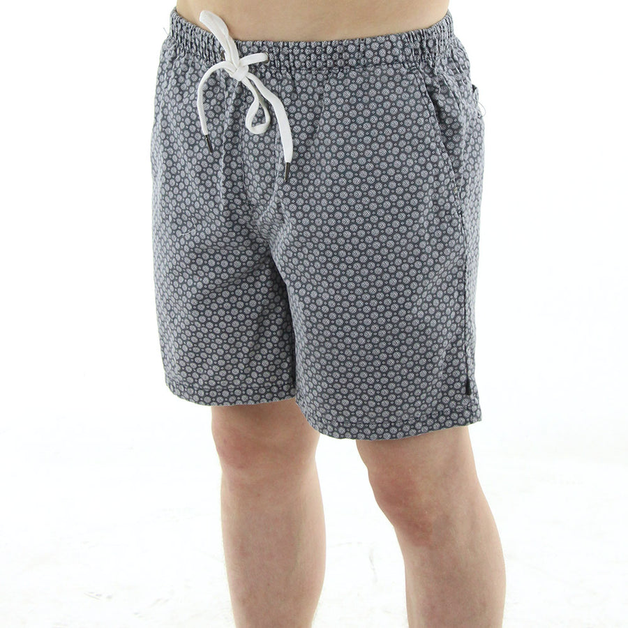 No Diving Shorts/Blue/White