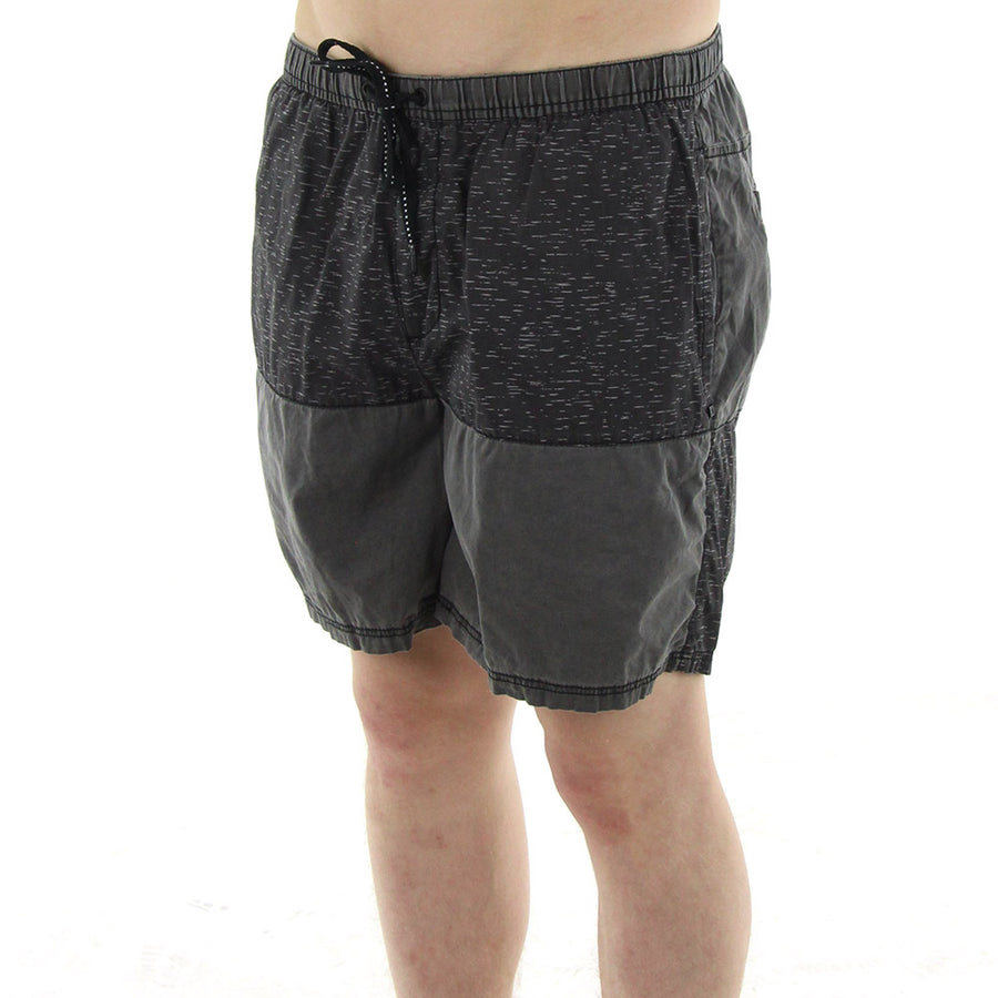 Breakout Pull On Shorts/Black/Grey