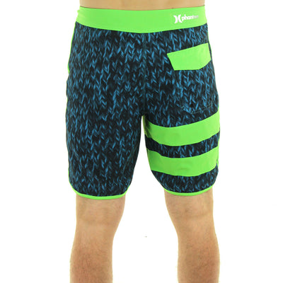 Block Party Loop Shorts/Green/Blue