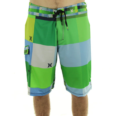 Phantom Kings Road Shorts/Lime Green/Blue/Yellow