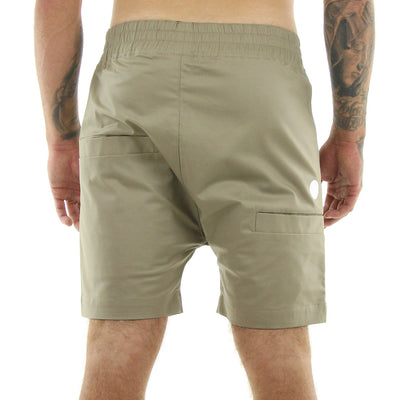 The Yes Shorts/Tan with Tan