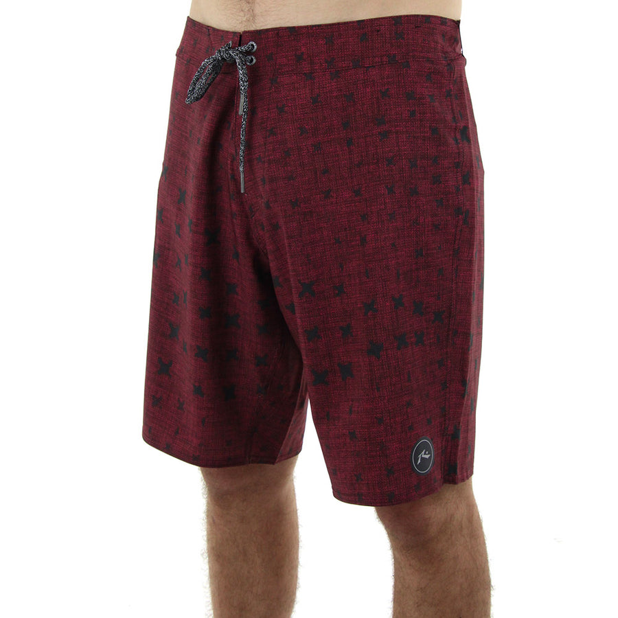 Crossed Boardshort Boardshorts/Burnt Red