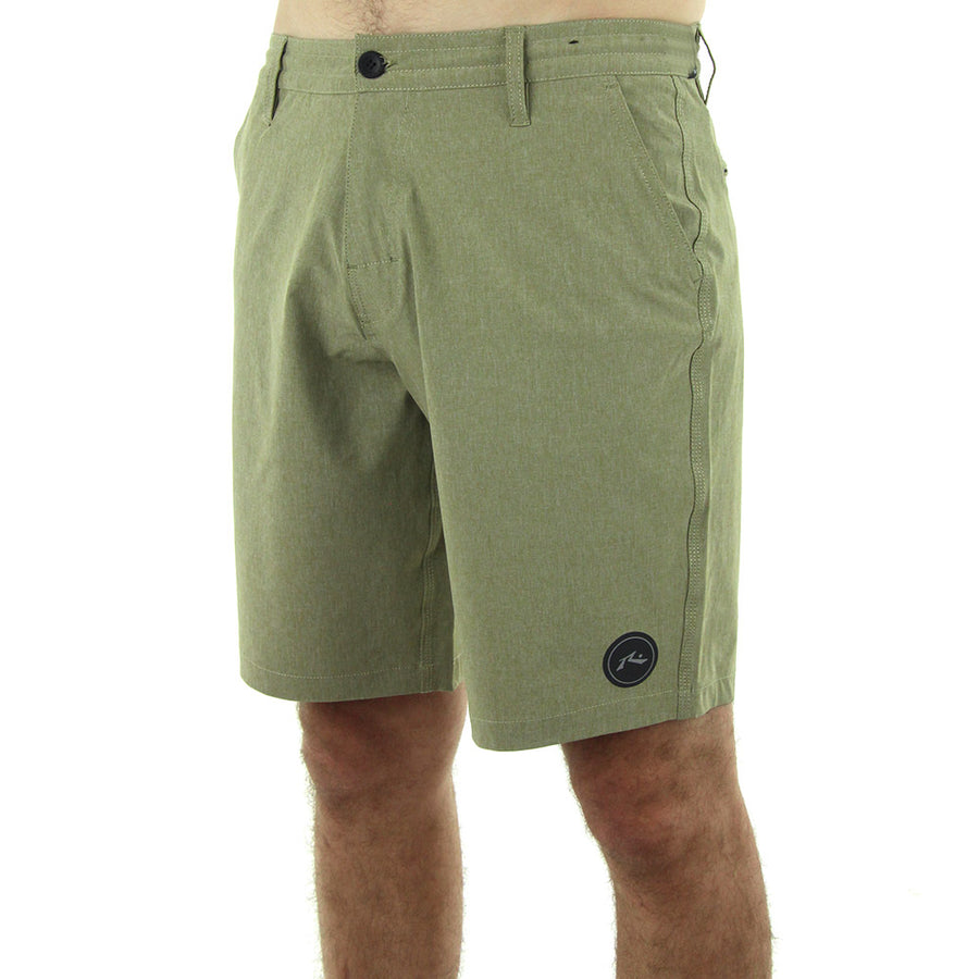 Marled Hybrid Boardshorts/Light Brown
