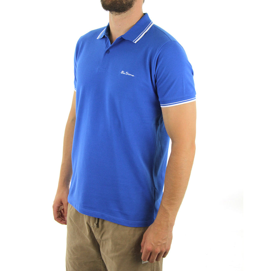 Basic Script Polo Collared Shirt/Victoria