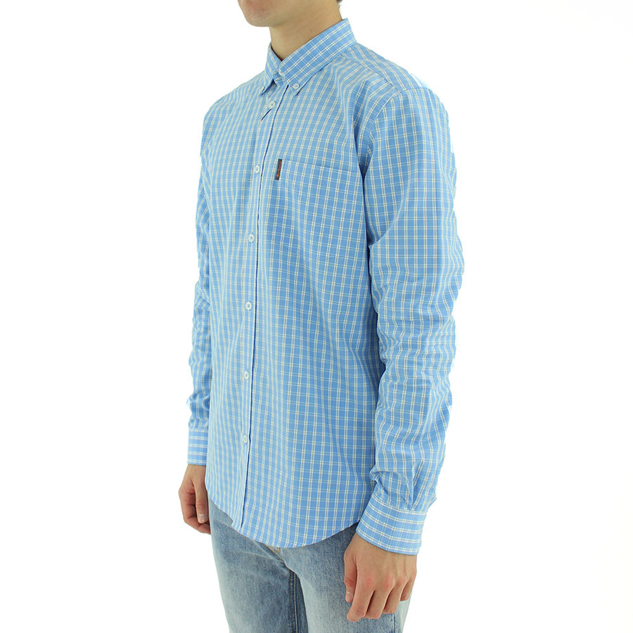 House Gingham Collared Shirt L/S
