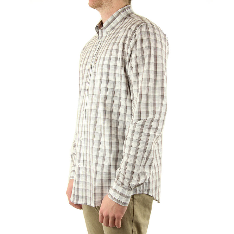 Plaid Collared Shirt L/S