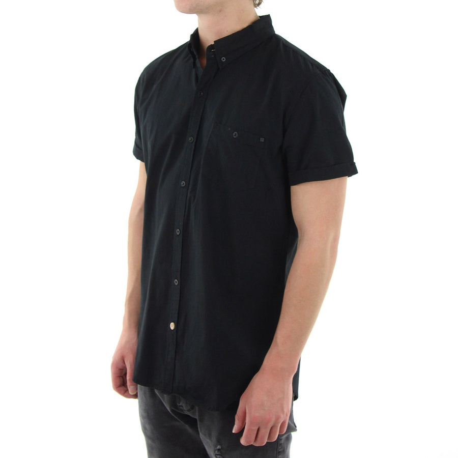 Jiffy Collared Shirt/Black