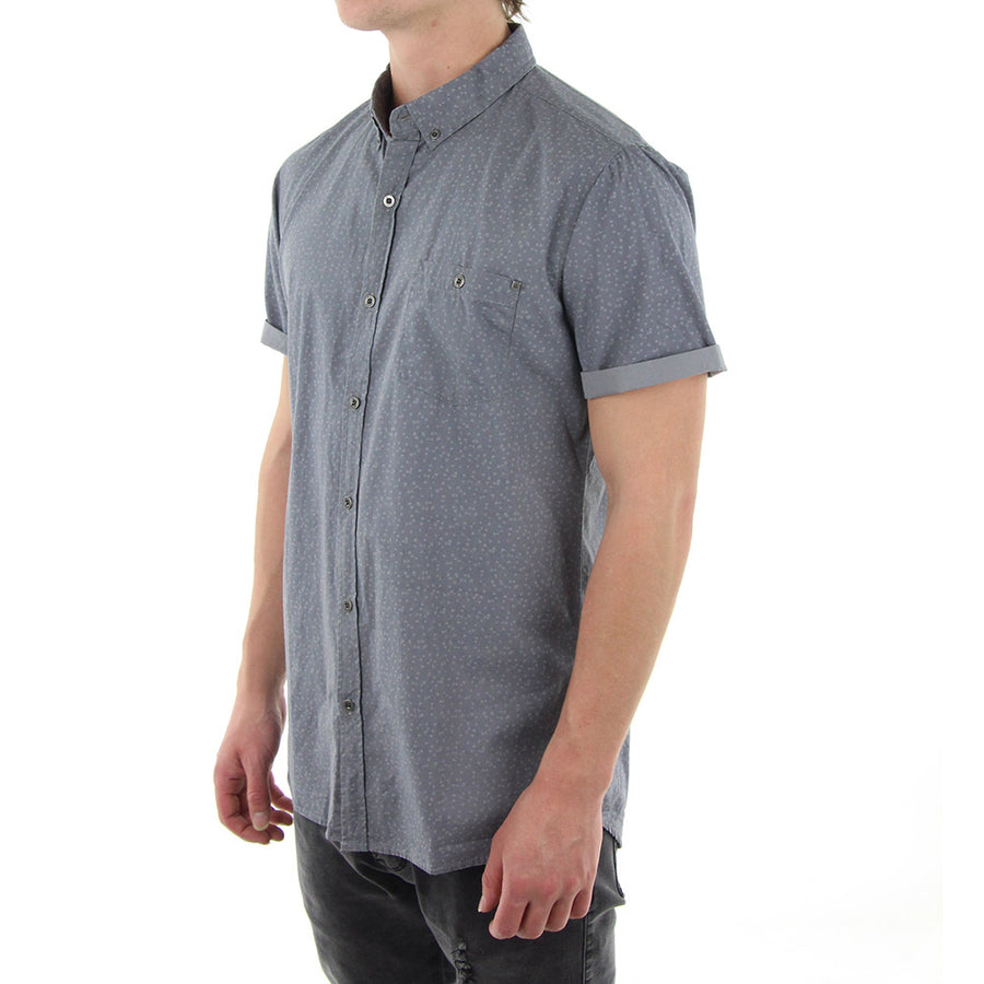 Barents Collared Shirt/Silver