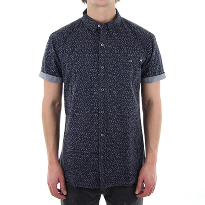 Barents Collared Shirt/Navy