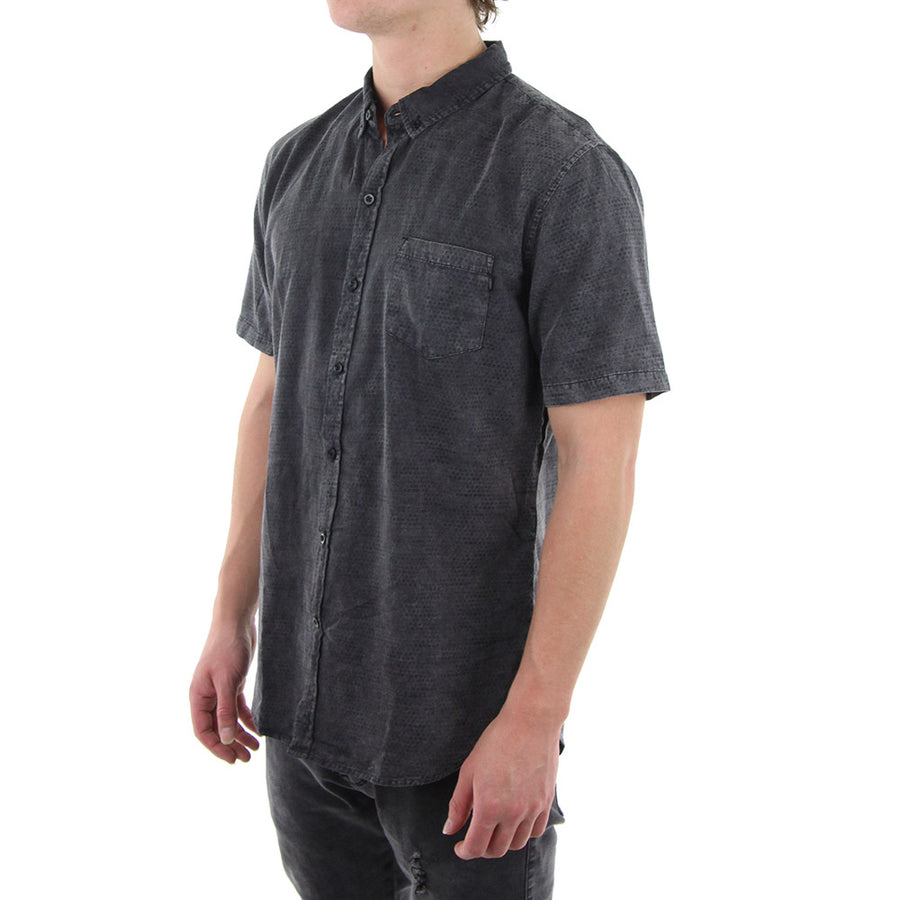 Waver Collared Shirt/Black