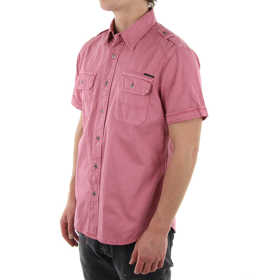 Function Collared Shirt/Pink