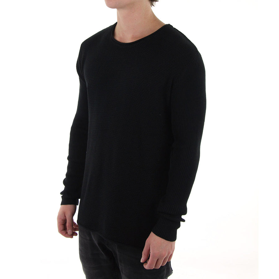 Crew Tension Knit/Black