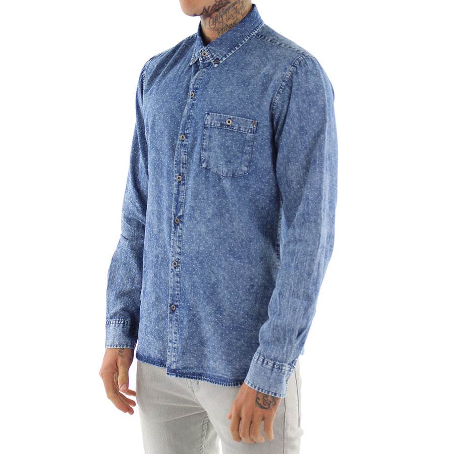 Curtail L/Sleeve  Collared Shirt