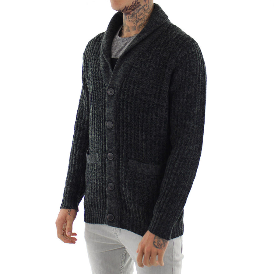 Live Wire Button Cardi Knit