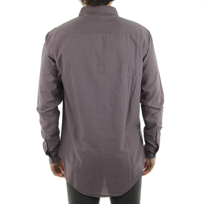 Barkly Oxford LS Collared Shirt/Eggplant