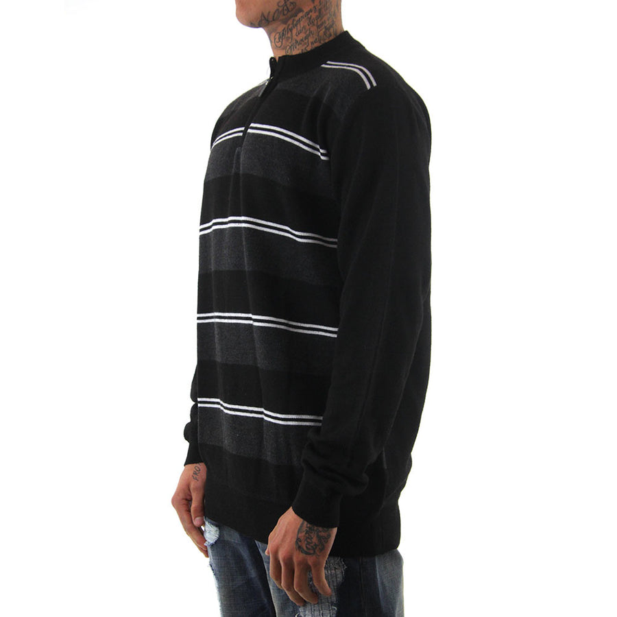 Stripes Knit/Black/Charcoal