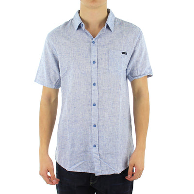 Lighters Short Sleeve Collared Shirt/Chambray