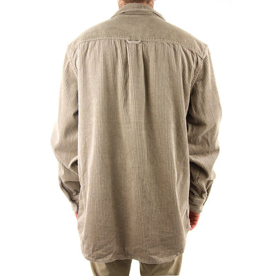Buzzed L/S Collared Shirt/Light Fennel