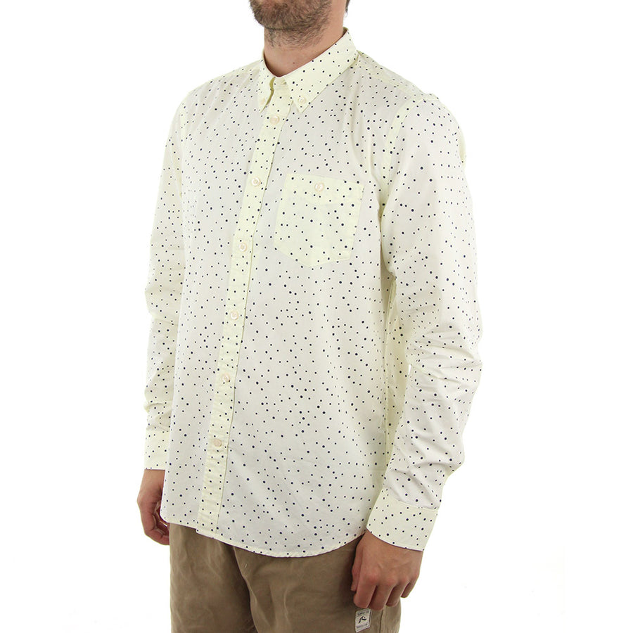Orien Collared Shirt/Angora