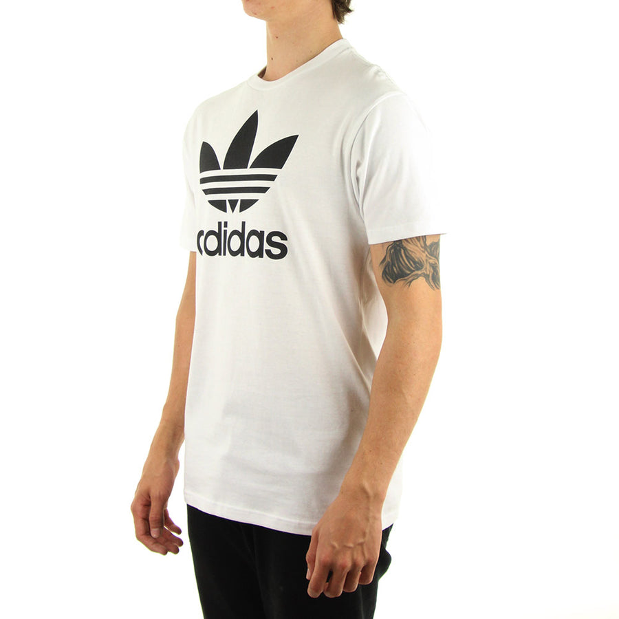 Trefoil Tee/White/black