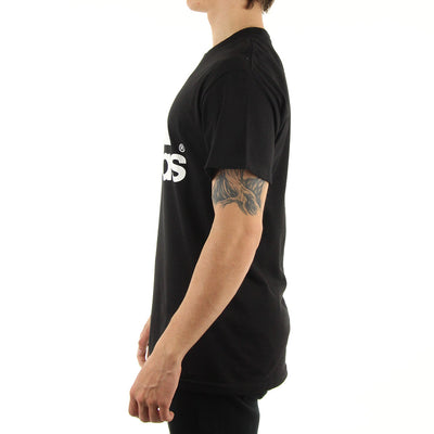 The Go To Tee/Black/White