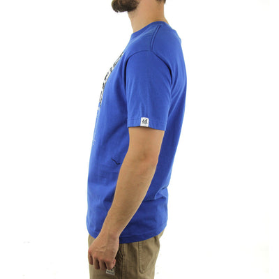 Shorty's x AK Tee/Royal Blue