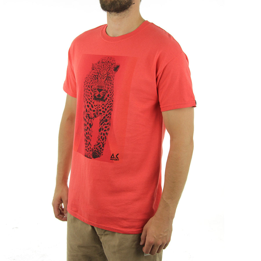 Protect Cats Tee/Passion Red