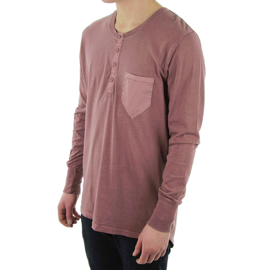Wiley Long Sleeve Tee/Wine Vintage