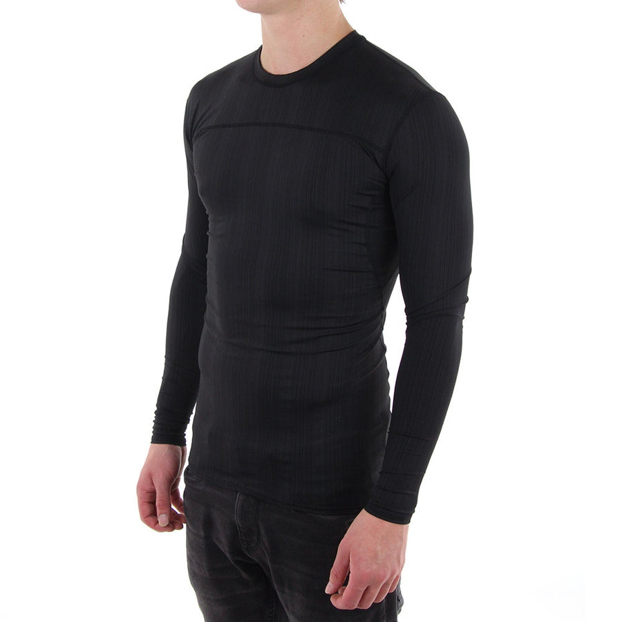 Comp (Tight) Long Sleeve Tee/Black